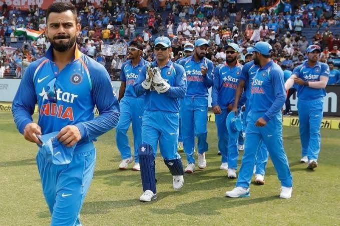 Indian Cricket Team for ICC World Cup 2019