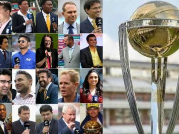 ICC 2019 announced the List of Commentators
