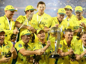 Australia win the World Cup