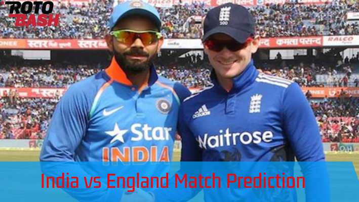 England vs India Match Prediction