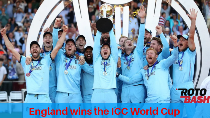 England wins ICC World Cup